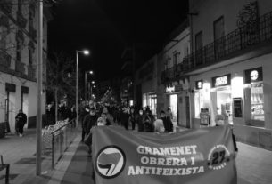 Manifestació 27 de gener de 2021. Foto: Redacció